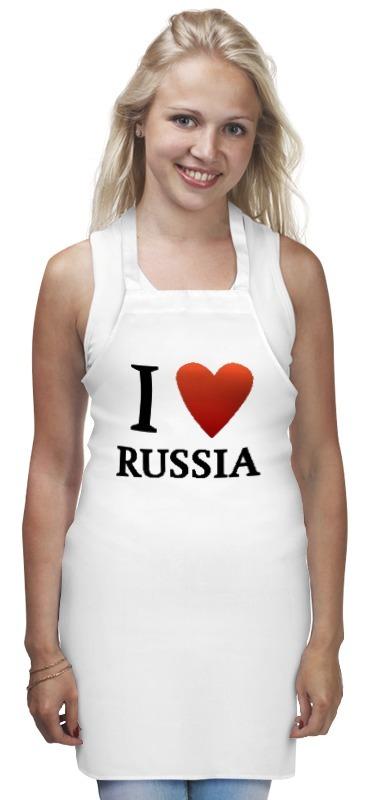 цены Фартук Printio I love russia