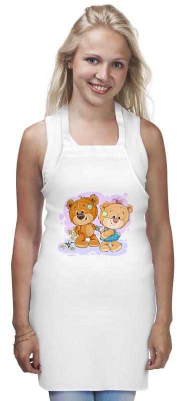 Фартук Printio Влюблённые медвежата фартук printio влюблённые медвежата