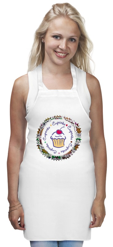 Фартук Printio cupcake mermaid cupcake stand