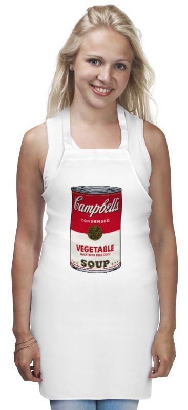 Фартук Printio Campbell soup оцинкованный фартук на парапет