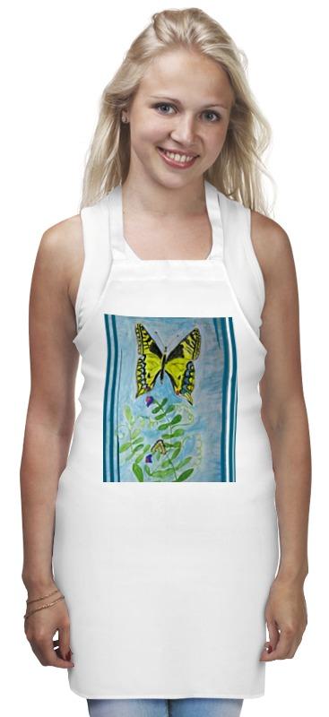 Фартук Printio Бабочка-красавица набор шьем кармашек веселая бабочка 3276