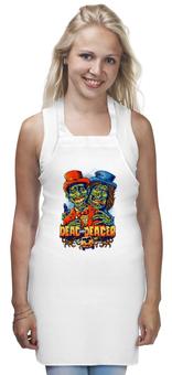 "Фартук ""Тупой и ещё тупее, зомби арт"" - zombie, зомби, кино, комедия, тупой и ещё тупее"