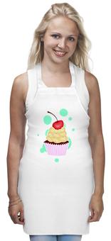 """Фартук """"Капкейк"""" - сладости, десерт, капкейк, cupcake, кексик"""