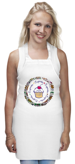 "Фартук "" cupcake"" - сладости, кекс, капкейк, cupcake"
