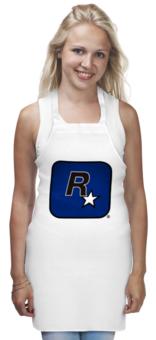 "Фартук ""Rockstar"" - оригинально, grand theft auto, gta, rockstar, рокстар, rockstar games"