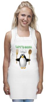 """Фартук """"Будем готовить"""" - готовим, еда, повар, кулинар, стряпуха"""