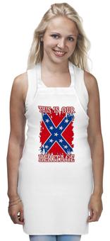 """Фартук """"Флаг Конфедерации США"""" - война, америка, флаг, сша, флаг конфедерации"""
