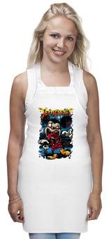 "Фартук ""Микки Маус зомби"" - арт, zombie, зомби, микки маус, mickey mouse"