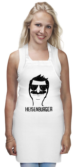 "Фартук ""Heisenburger"" - во все тяжкие, breaking bad, heisenberg, bobs burgers, бургеры боба"