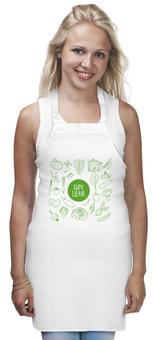 """Фартук """"Сыроедение"""" - тыква, капуста, сыроедение, вегетарианство, овощи"""