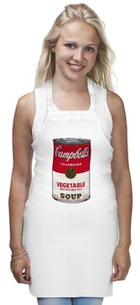 "Фартук ""Campbell soup"" - поп арт, campbell soup"