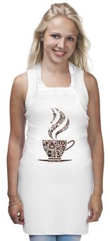 """Фартук """"Кофейный"""" - чашка, рисунок, напиток, кофе, кухня"""