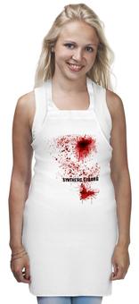 "Фартук ""True Blood"" - прикол, хэллоуин, кровь"