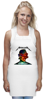 "Фартук ""Metallica Band"" - heavy metal, metallica, рок музыка, рок группа, thrash metal"