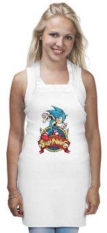 "Фартук ""Sonic the Hedgehog"" - игра, соник"