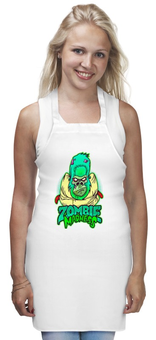 "Фартук ""Zombie Madness"" - арт, zombie, зомби, обезьяна, горилла"