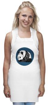"""Фартук """"Panda"""" - арт, медведь, популярные, панда, в подарок, оригинально, креативно"""