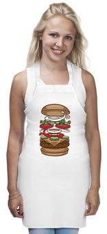 """Фартук """"BURGER/БУРГЕР"""" - арт, king, burger, burgerking"""