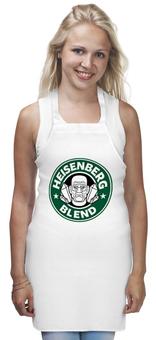 "Фартук ""Heisenberg Blend"" - сериал, кофе, во все тяжкие, breaking bad, starbucks"