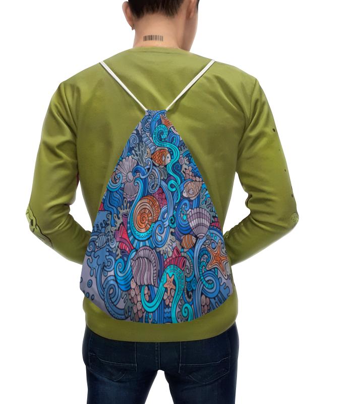 Рюкзак с полной запечаткой Printio Морской мир