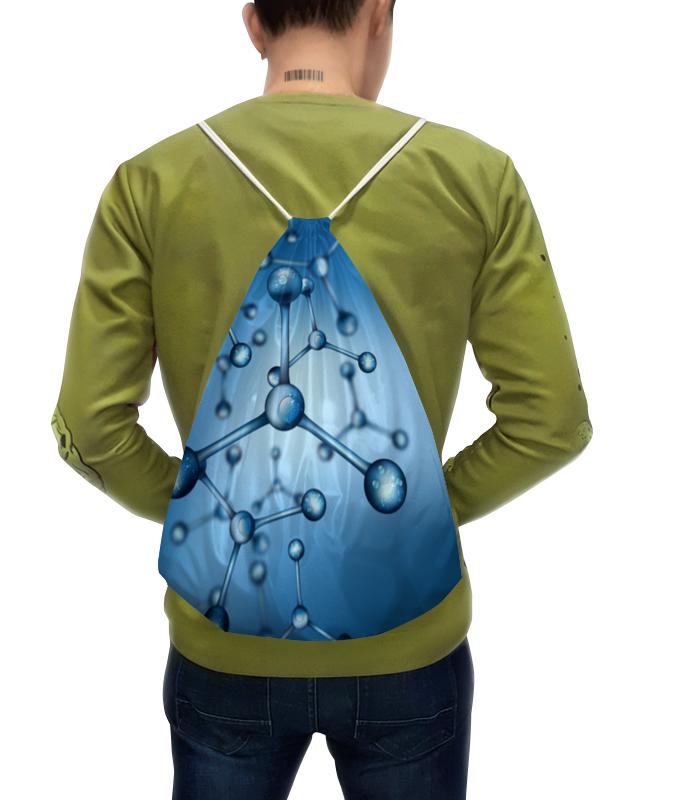 Рюкзак с полной запечаткой Printio Молекула рюкзак с полной запечаткой printio лис под звёздами