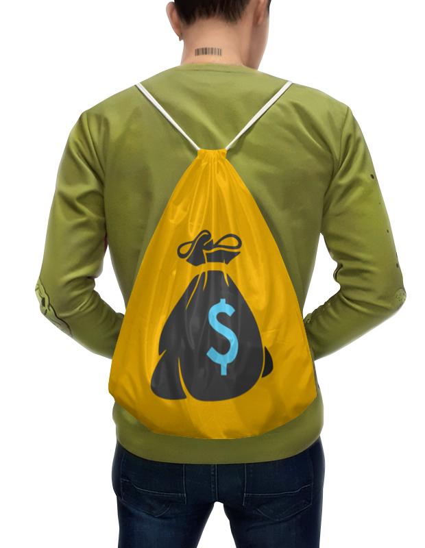Рюкзак-мешок с полной запечаткой Printio Бабло аферисты big лажа tour или как развести клиента на бабло