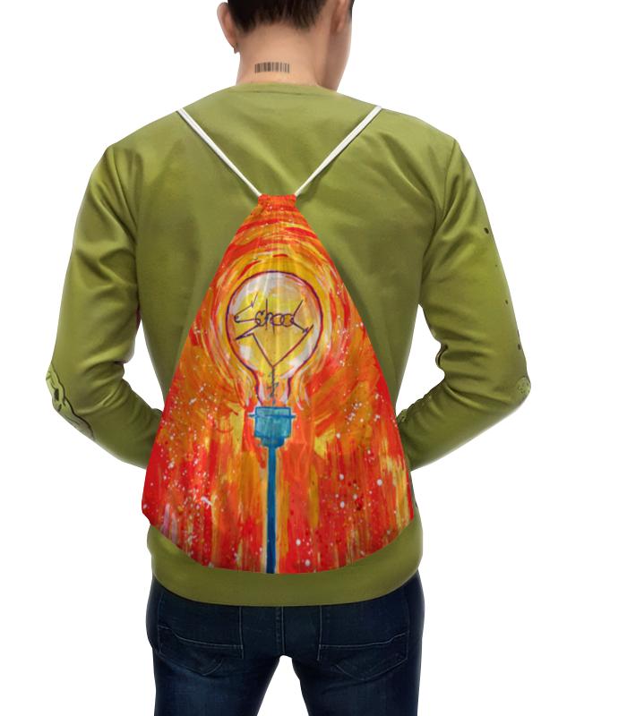 Рюкзак с полной запечаткой Printio School лампочка криптоновая maglite к арт s4 в блистере 947261