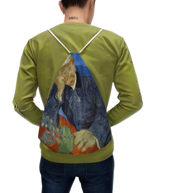Рюкзак-мешок с полной запечаткой Printio Портрет доктора гаше (винсент ван гог) рюкзак с полной запечаткой printio портрет четы арнольфини ян ван эйк