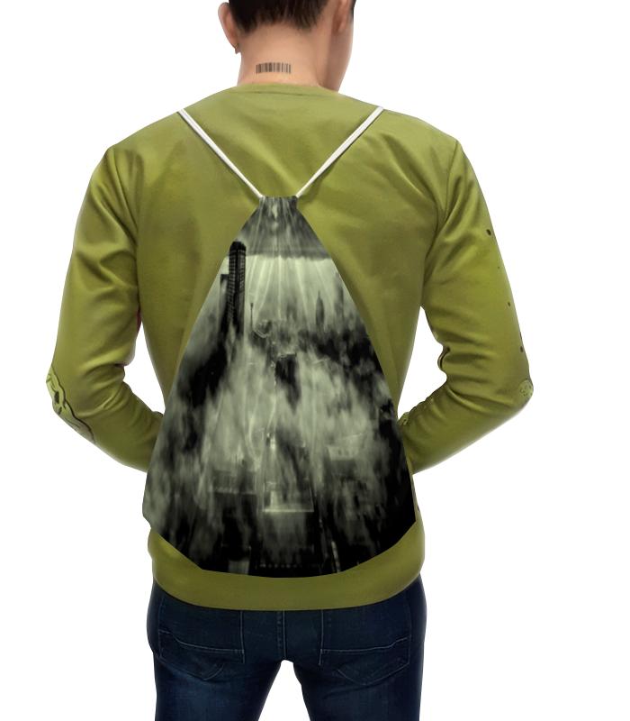 Рюкзак с полной запечаткой Printio Серый город белый город сливки стерилизованные 10% 0 2 л