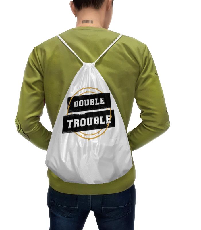 цена на Рюкзак-мешок с полной запечаткой Printio Double trouble