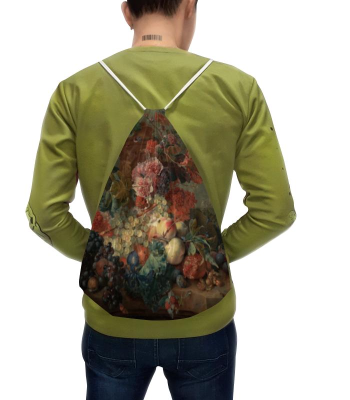 Рюкзак с полной запечаткой Printio Цветы (ян ван хёйсум) сумка с полной запечаткой printio девушка с жемчужной серёжкой ян вермеер