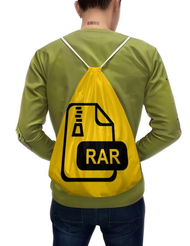 Рюкзак-мешок с полной запечаткой Printio Winrar цена
