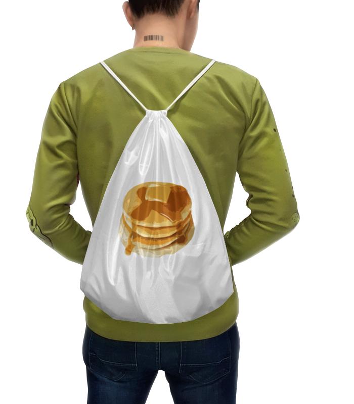 Рюкзак с полной запечаткой Printio Блины с маслом блины и блинчики