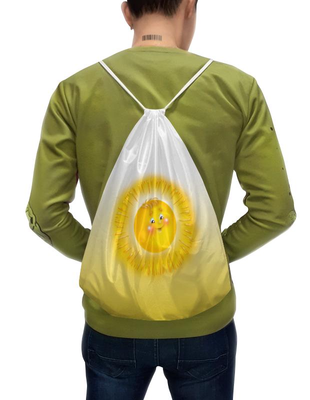 Рюкзак-мешок с полной запечаткой Printio Летнее настроение. лонгслив printio летнее настроение
