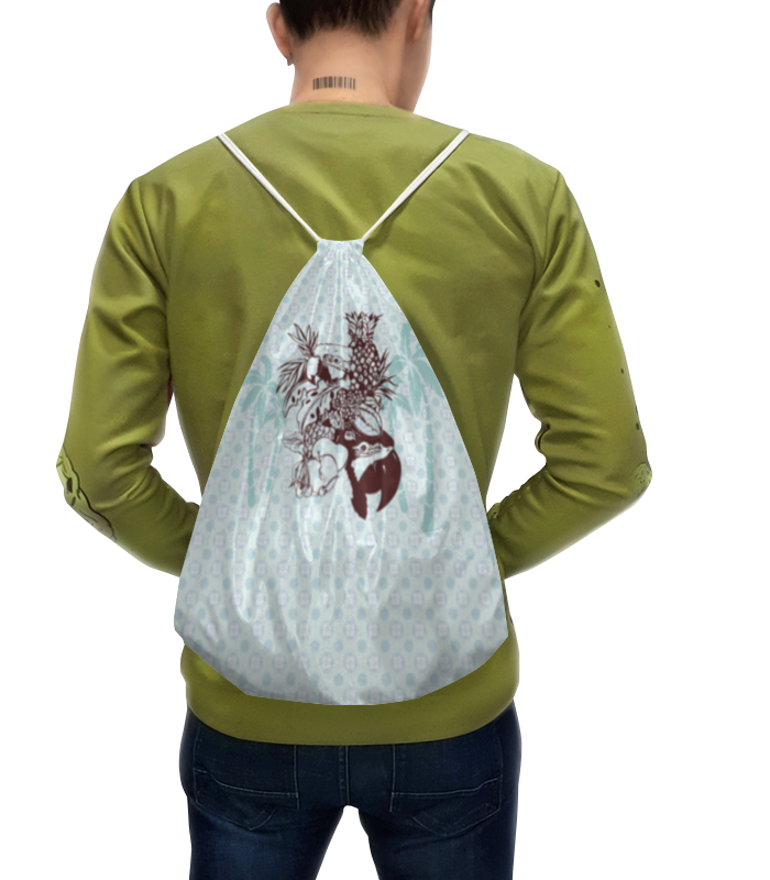 Рюкзак с полной запечаткой Printio Тропики