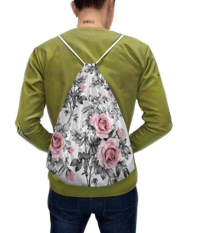 Рюкзак с полной запечаткой Printio Цветы рюкзак розового цвета adidas ут 00010770