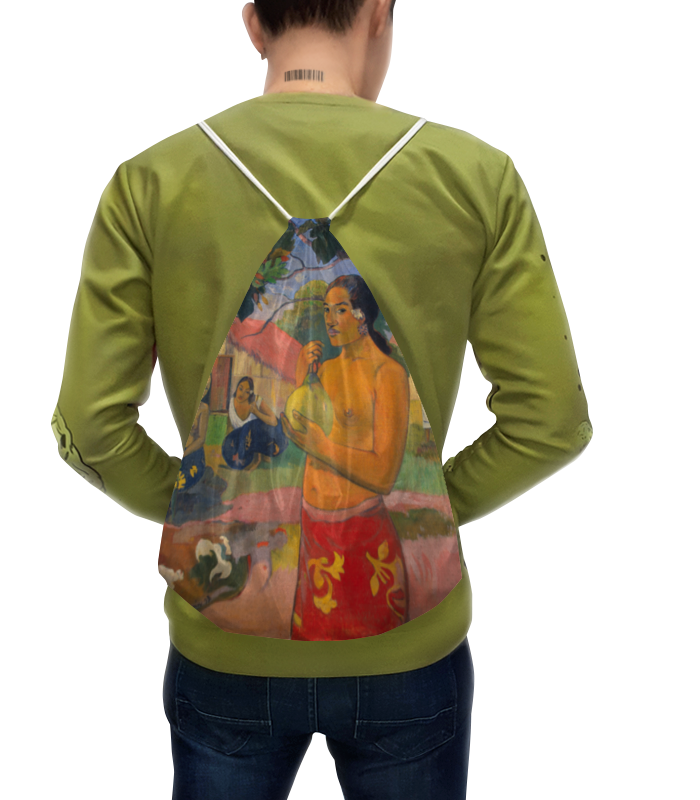 Рюкзак с полной запечаткой Printio Женщина, держащая плод (поль гоген) надувной матрас детский bestway mickey mouse 91006b 119x61