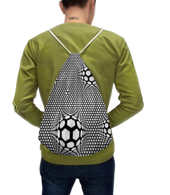 Рюкзак-мешок с полной запечаткой Printio Футбольные мячи