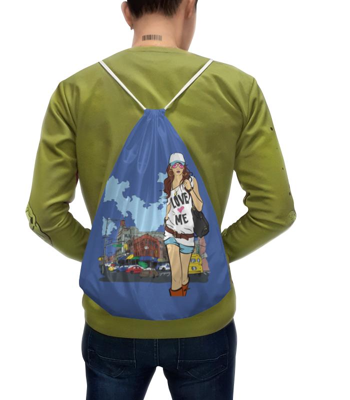 Рюкзак с полной запечаткой Printio Девушка рюкзак с полной запечаткой printio девушка с жемчужной серёжкой ян вермеер
