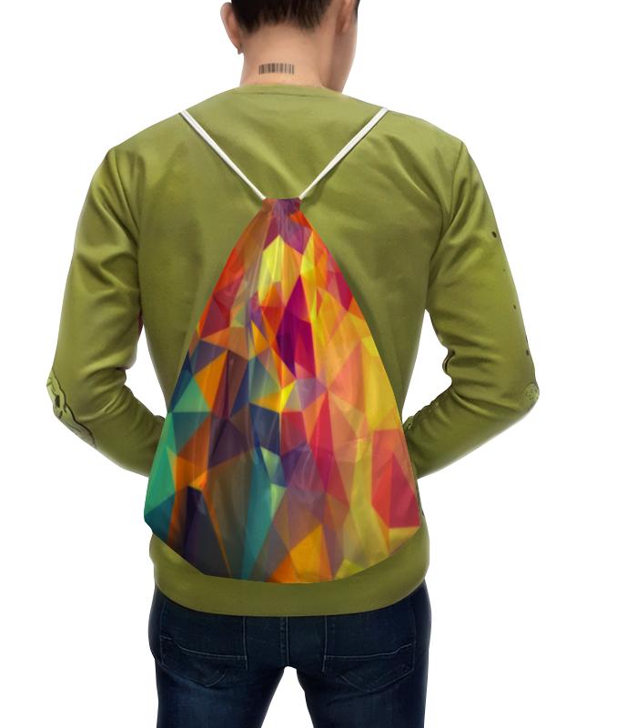 Рюкзак с полной запечаткой Printio Абстракция треугольники юбка карандаш printio треугольники