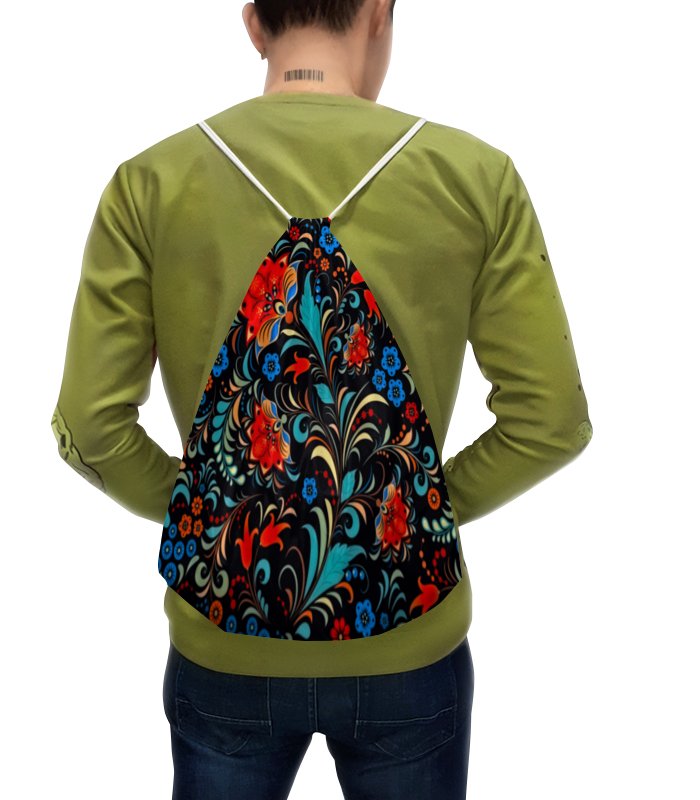 Рюкзак с полной запечаткой Printio Цветочная роспись сумка printio стьюи