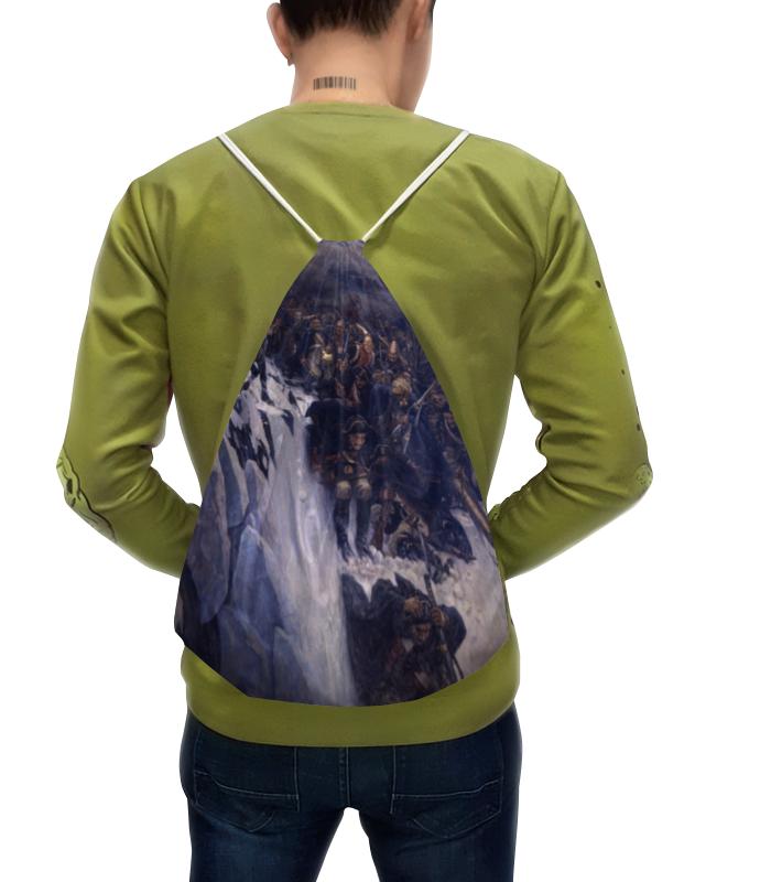 Рюкзак с полной запечаткой Printio Переход суворова через альпы (в. и. суриков) рюкзак с полной запечаткой printio пешеходный переход