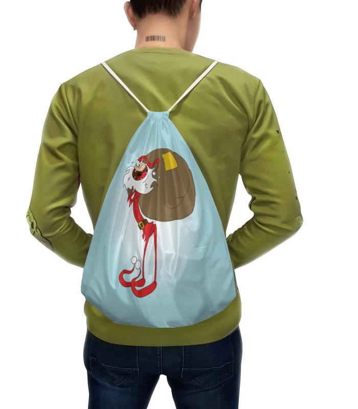 Рюкзак-мешок с полной запечаткой Printio Санта сумка с полной запечаткой printio санта
