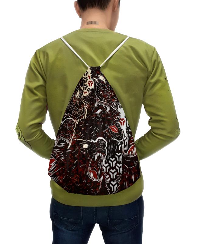 Рюкзак с полной запечаткой Printio Волчий оскал рюкзак с полной запечаткой printio мишутка