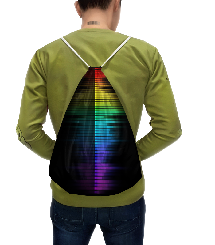 Рюкзак с полной запечаткой Printio Эквалайзер футболка эквалайзер