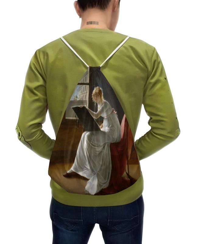 Рюкзак с полной запечаткой Printio Портрет молодой женщины (мари-дениз вильер)