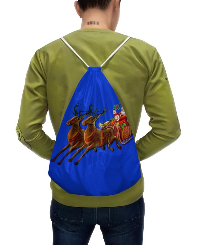 Рюкзак с полной запечаткой Printio Санта клаус недорого