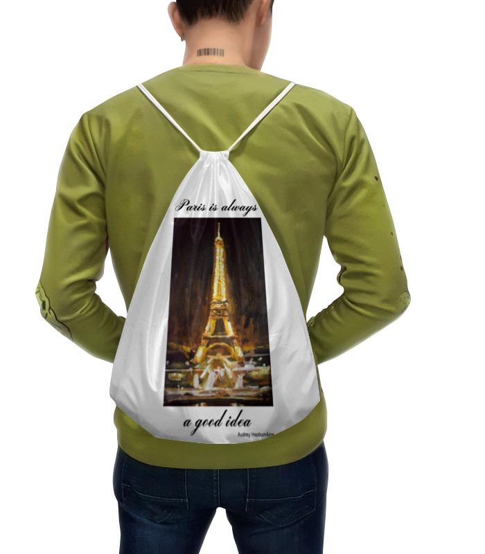 Рюкзак с полной запечаткой Printio Париж белоснежка живопись на картоне париж огни эйфелевой башни 30 40 см
