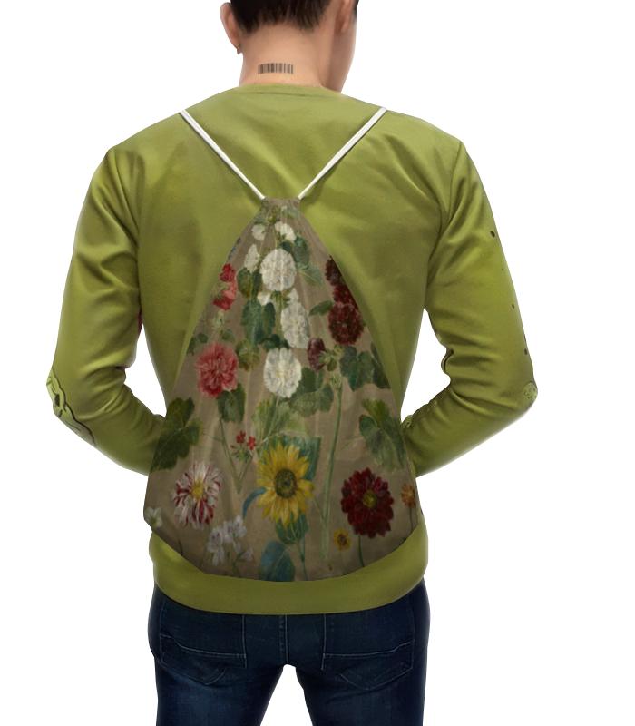 Рюкзак с полной запечаткой Printio Цветы (эжен делакруа)