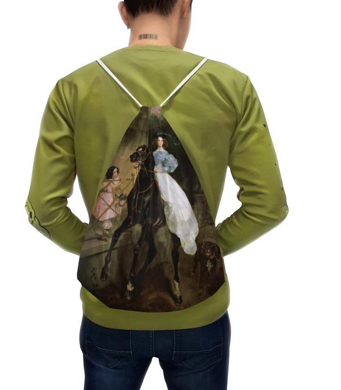 Рюкзак с полной запечаткой Printio Всадница (картина карла брюллова) чехол для iphone x объёмная печать printio всадница картина карла брюллова